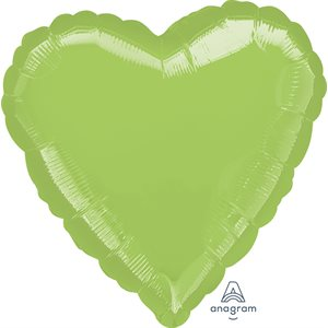 11'' M.LIME GREEN HEART