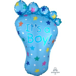 it's a boy foot h / s