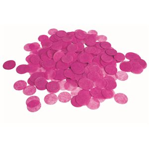.8 OZ CONFETTI PAPIER HOT PINK