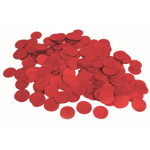 .8 OZ PAPER CONFETTI RED